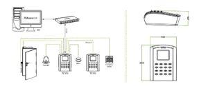 دستگاه کنترل تردد ZKSC105