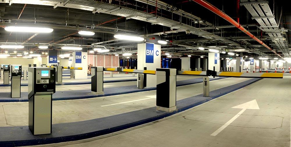 کنترل تردد پارکینگ