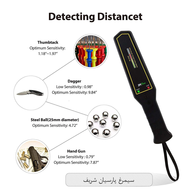 راکت بازرسی بدنی فلزیاب - نحوه استفاده راکت بازرسی بدنی